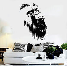 Wall Stickers Vinyl Decal Gorilla Monkey Animal Nature Home Room Decor (ig821)
