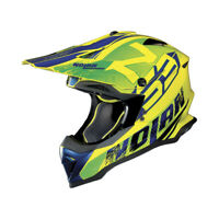 CASCO CROSS NOLAN N53 WHOOP - 49 Led Yellow TAGLIA S