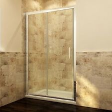 New Wall to Wall Framed Sliding Door Shower Screen Enclosure Rail Adjustable