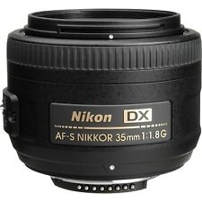 Nikon Nikkor AF-S DX 35 mm f/1.8G Lens for Nikon