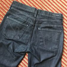 Citizens of Humanity Women 's 27 Boot cut Hutton Denim Jeans  Mid-rise wide leg