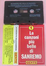 MC SANREMO PIU'BELLE CANZONI SANREMO PROMO VILLA MODUGNO 1992 no cd lp dvd