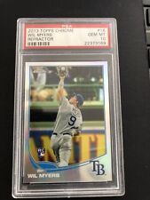 2013 Topps Chrome Wil Myers Refractor Rookie RC PSA 10 Pop 16
