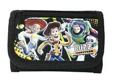 Disney Toy Story Woody, Jessie & Buzz Children boy's gift Fold Wallet - Black