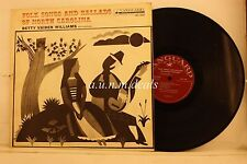 "Betty Vaiden Williams - Folk Songs And Ballads Of North Carolina , LP 12"" (G)"
