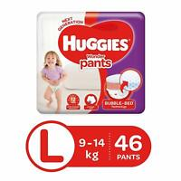 Huggies Wonder Pants Diapers, Large (Pack of 46) free shipping world