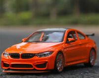 Maisto 1:24 BMW M4 GTS Racing Sports Car Model Alloy Boys Vehicles Toys--Orange