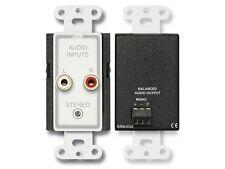 RDL D-CIJ3 Consumer Audio Extender Input Jacks/Mono