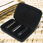 Durable 7 Holes Harmonica Carrying Case Holder Harmonicon Container