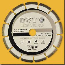 Diamante Disco Ø 180 mm Diamante disco armierte calcestruzzo (Laser saldato)