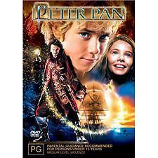 PETER PAN - BRAND NEW & SEALED DVD (REGION 4)