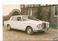 Vintage Motor Cars Postcard - Rolls Royce Silver Shadow 1973 - EB166