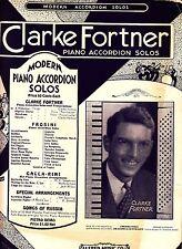 A Francisca Tango Clarke Fortner 1934 Accordion Sheet Music