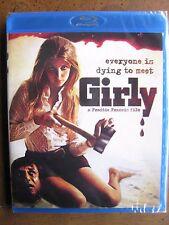 GIRLY (1969) (Blu-Ray) SCORPION - FREDDIE FRANCIS - BRAND NEW, FACTORY SEALED!!!