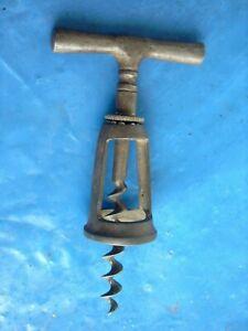 URALT Antik Korkenzieher   corkscrew   tire bouchon    cavatappi    Kugellager