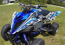 Yamaha Raptor 700 700R graphics 2013 2014 2015 custom deco kit #2500 Blue