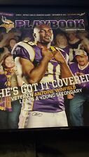 Minnesota Vikings Playbook Program Magazine Lions 2011 Antoine Winfield