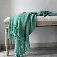 Cashmere Blanket Super Soft Winter Bed Bedding Warm Cotton Sofa Cover Supplies