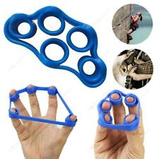 Mano dita forza EXERCISER TRAINER STRENGTHENER Grip Resistenza Band TENSIONE