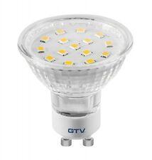 4W GU10 LED-Leuchtmittel Strahler Spotlight Licht SMD Spot Birne 4W GTV Warmweiß