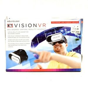 Vision VR Virtual Reality Headset 360 Degree Viewing iPhone Android Smartphone