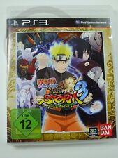 !!! PLAYSTATION PS3 SPIEL Naruto Shippuden 3 Storm Fullburst, gebraucht GUT !!!