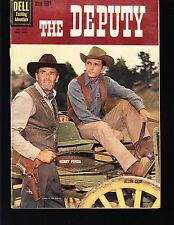 THE DEPUTY #1130 DELL / 4-COLOR  1960 VG+  MOVIE/TV...PHOTO-c  HENRY FONDA