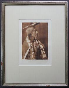 Edward Curtis Photogravure 1904 A. Jicarilla Authentic Original Native American