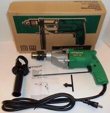 """New Hitachi 1/2"""" Two Speed Corded Drill 110V NIB1050/min 1800/min DUT-13   DUT13"""
