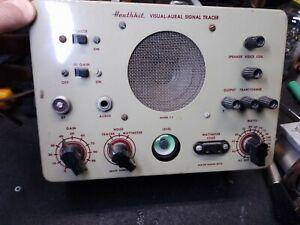 Vintage Heathkit T-3 Visual Audio Signal Tracer Magic Eye for restoration