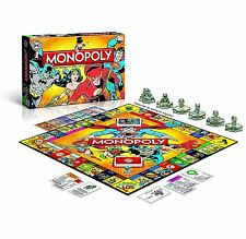 MONOPOLY - DC COMICS ORIGINALS - Winning Moves 44109 - NEU