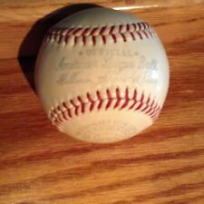 Vintage 1951-59  William Harridge Reach American League Baseball