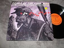 Songs of the Civil War North & South Sung By Frank Warner