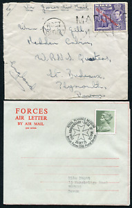 MALTA (1037): FORCES /cancel/cover/Air Letter