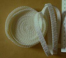 5m Cinghia Elastica-Elastico-larghezza 1.2cm - Crema chiaro