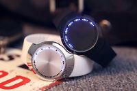 LED Watch Touch Screen Silicone Band Sports Modern Men Women Quartz Wristwatch