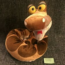 Disney Store The Jungle Book Plush Kaa The Snake Coiled or Straight Bendable