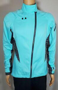 Pearl Izumi Women's Full Zip Cycling Jacket Long Sleeve Wind Breaker Large