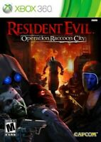 XBOX 360 GAME RESIDENT EVIL OPERATION RACCOON CITY BRAND NEW & SEALED