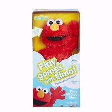 Playskool Sesame Street Play All Day Elmo Toy Nib with 8 games 150+ responses