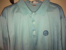 ALL PIMA COTTON OLYMPIA FIELDS MEMBERS LOGO GOLF SHIRT, XXL