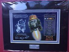 STAR WARS ACME ARCHIVES 2015 STAR WARS REBELS CHARACTER KEY CHOPPER 8/250