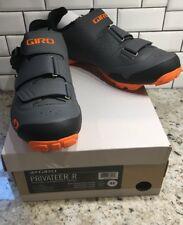 New Giro Privateer R. 10.5 44 Dark Shadow Orange MTB Mountain Bike Cycling Shoes