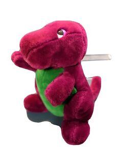 """Rare Vtg Original 90's Barney The Dinosaur 10"""" Dakin Plush Lyons"""