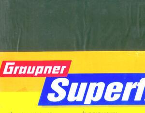 Superfilm Bügelfolie Oliv, 5 Meter x 65cm  Graupner