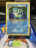 💧 Shadowless Blastoise - Base Set 2/102 Pokemon Card 1999 💧