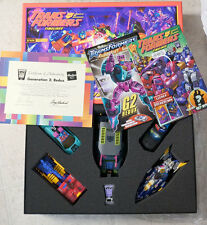 Transformers Botcon 2010 Generation 2 Redux Box Set COMPLETE lots of EXTRAS