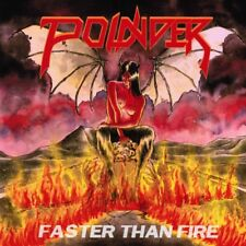 "POUNDER - Faster Than Fire 7"" (NEW*LIM.500 BLACK V.*US METAL/NWOBHM*ANGEL WITCH)"