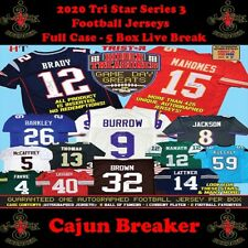 KANSAS CITY CHIEFS *FULL CASE- 5BOX LIVE BREAK*- 2020 TRISTAR SERIES 3 JERSEYS
