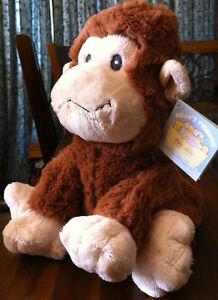 RUSS Berrie Baby Safe Jungle Monkey Soft Plush Toy Newborn Gift Medium-Naamah